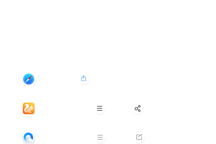 手机端分享提示