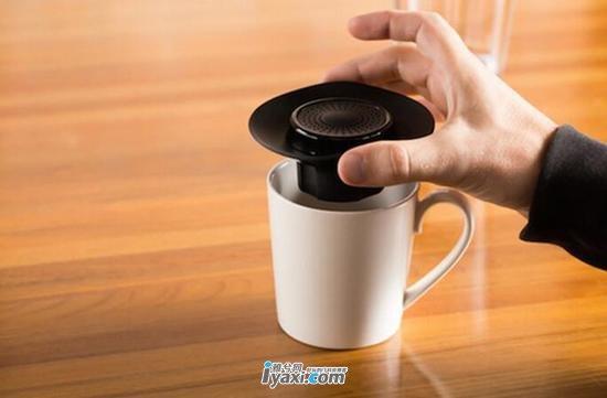 科技趣品  有了这款神器杯子也能当音箱